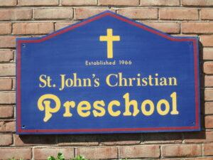 St. Johns Christian Preschool logo 300x225
