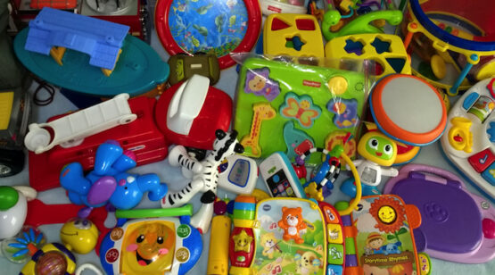 WAM & Fam volunteer services toy donation collection