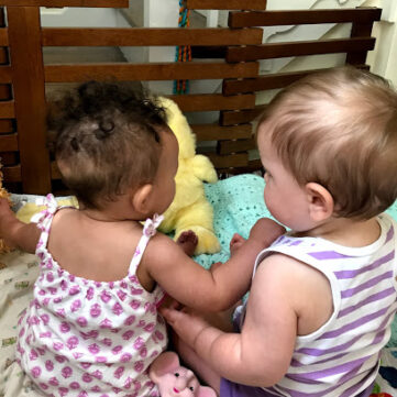 WAM & Fam parents group: Babies playing together