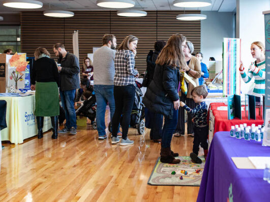 WAM & Fam Southern Montgomery County Preschool Fair attendees